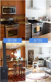 Budget Kitchen Makeovers Before And After - before and after pics of kitchens on a budget home design and