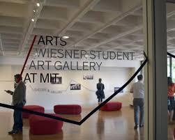 wiesner student art gallery arts at mit