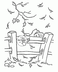fall farm coloring pages kids fall printables free