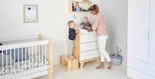 chambre bebe design scandinave lit bébé évolutif bois naturel chambre meubles flexa design