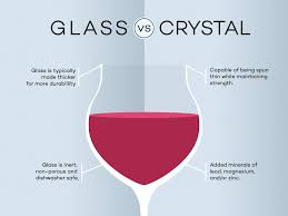 crystal vs glass when it comes to wine glasses wine folly