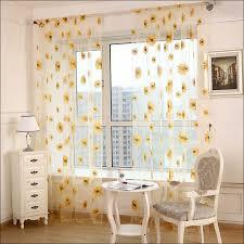 Sunflower Curtains Kitchen by Kitchen Cafe Curtains For Kitchen Kitchen Valance Curtains