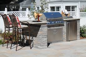 Outdoor Kitchen Granite Countertops Built In Outdoor Kitchens In Connecticut The Bahler Brothers