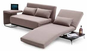 jh033 premium sofa bed with end table in beige free shipping