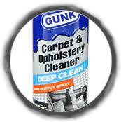 Carpet And Upholstery Cleaner Gunk