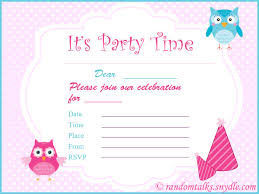 8th birthday invitation templates 28 images free printable