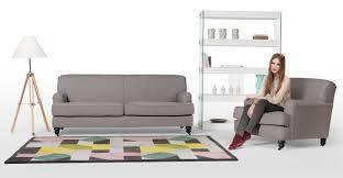Orson Chair Orson 3 Seater Sofa Graphite Grey Made Com