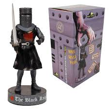 monty python holy grail black knight talking bobble head factory