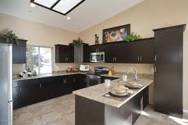 Kitchen Cabinets And Flooring Combinations Are Dark Kitchen Colors In Style Capital Mark Granite Cabinets