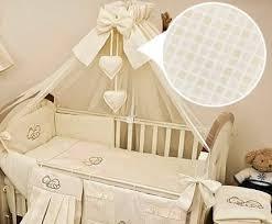 Uk Bedding Sets Luxury 10 Baby Cot Bedding Set Cotbed Nursery Canopy Net