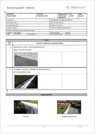 building defect report template library engineering construction clarinspect mobile