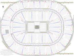 smoothie king center arena seat u0026 row numbers detailed seating