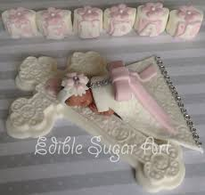 christening cake topper christening gown baptism cupcake topper