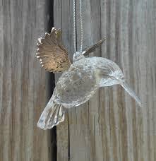 silver tree and black hummingbird ornament st18207 ebay