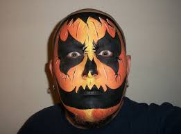 bald man halloween mask wicked pumpkin halloween face painting marvelous masks chicago