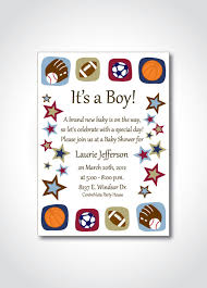baby shower sports theme baby shower invitations captivating sports themed baby shower