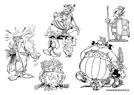 asterix coloring pages coloring home