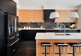 kitchen black kitchen ideas for the bold modern home low backrest