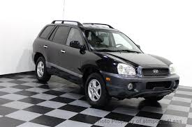 2003 hyundai santa fe recalls 2003 used hyundai santa fe v6 2wd suv at eimports4less serving