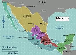 Puerto Vallarta Mexico Map by File Mexico Regions Map Svg Wikimedia Commons
