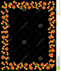 orange and black halloween background halloween border candy corn stock image image 6533851