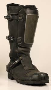 used motorcycle boots dredd boots