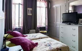 chambre en mauve chambre mauve et turquoise