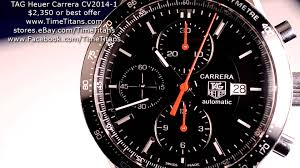 tag heuer carrera tag heuer carrera cv2014 1 41mm 50m exhibition calibre 16