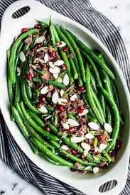miso maple green bean salad with bacon healthy nibbles bits