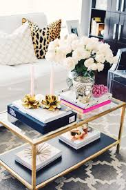 how to hack the ikea vittsjo coffee table brass vignettes