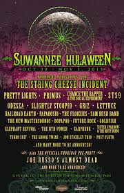 Spirit Of The Suwannee Christmas Lights Hulaween 2015 Preview Top 10 Acts Not To Miss Suwannee Music