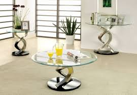 glass coffee table set of 3 3 piece modern wood and glass coffee table set sale singapore 4 thippo