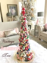 diy vintage ornament tree purple chocolat home
