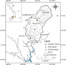 map of be location map of be river catchment