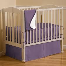 Mini Portable Crib Bedding Solid Aubergine Purple Portable Crib Bedding Carousel Designs