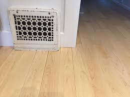 Laminate Flooring Gaps Gaps In Wood Floor Near Heating Register Home Improvement Stack
