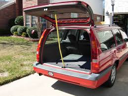 volvo vans tailgate 1997 volvo 850 wagon project