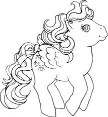 My Little Pony Coloring Pages Girl Coloring Pages Color Pages 80s Coloring Pages