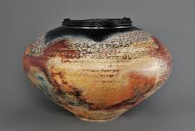 Pit Fired Pottery by Michael Berkley Spiral Gallery
