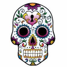 colorful skull temporary tattoos zazzle