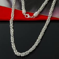 byzantine chain necklace images Special offer 925 sterling silver byzantine chain necklace classic jpg