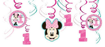 minnie mouse 1st birthday minnie mouse 1st birthday party supplies party city