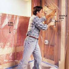 Vapor Barrier In Bathroom How To Add A Vapor Barrier To A Shower