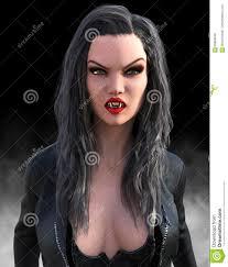 evil halloween vampire woman stock illustration image 69809540