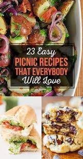 Summer Lunch Ideas For Entertaining - serious entertaining picnic recipes for a concert in the park