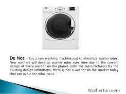 front load washer fan tips for smelly front load and top load washer odor solution