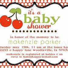baby shower invitation wording samples invitations templates