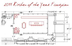 outdoor kitchen floor plans 2011 house beautiful kitchen of the year anticipation