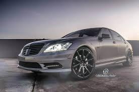 mercedes matte black platinum mercedes s600 on tokyo matte black rims by xo luxury