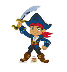 size captain jake jake neverland pirates cardboard